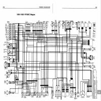 Diagrama honda vf500c