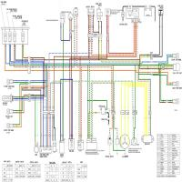 Diagrama honda xr125 color