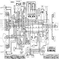 Diagrama kawasaki kz650 b