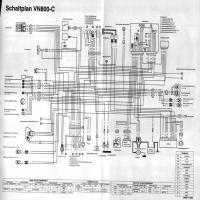 Diagrama kawasaki vn800