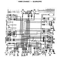 Diagrama kawasaki z440c