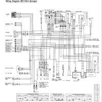 Diagrama kawasaki zr1100a