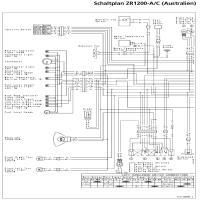 Diagrama kawasaki zrx1200