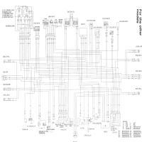 Diagrama suzuki bandit400 91 93