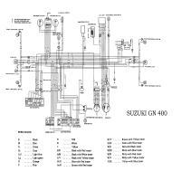 Diagrama suzuki gn400
