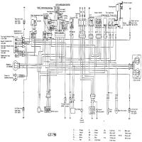 Diagrama suzuki gt750