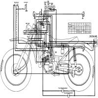 Diagrama yamaha dt250 dt250a dia