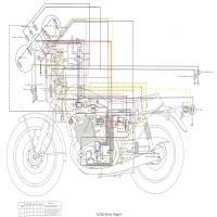 Diagrama yamaha tx750ewd