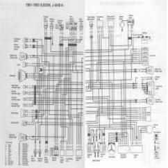 Sv650 Wiring Diagram Light Fixtures Diagrama Yamaha Xj550