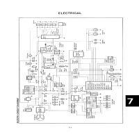 1983 Yamaha Xvz 12 Td Venture Royale Electrical Generator