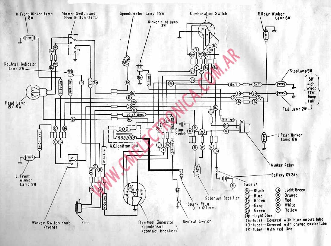 Kazuma Falcon 150 Wiring Diagram