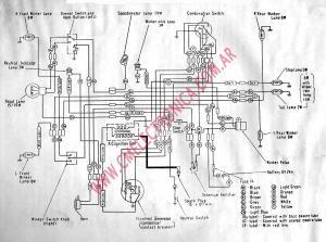 Diagrama honda c110 c110d