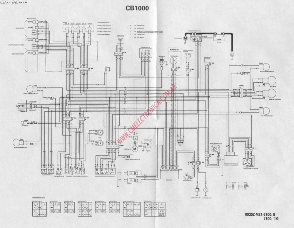 medium resolution of honda cb 1000 wiring diagram