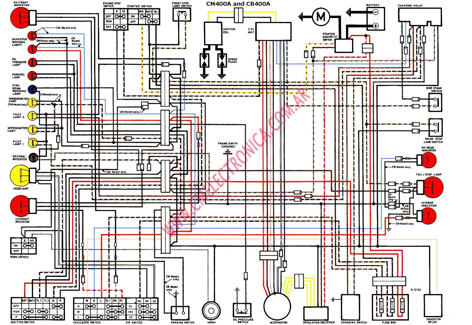 honda cm400a wiring diagram wiring diagram rh vw25 vom winnenthal de
