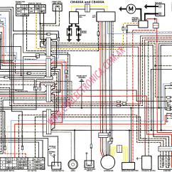 2003 Honda Civic Ignition Wiring Diagram Car Trailer Australia Diagrama Cb400a Cm400a