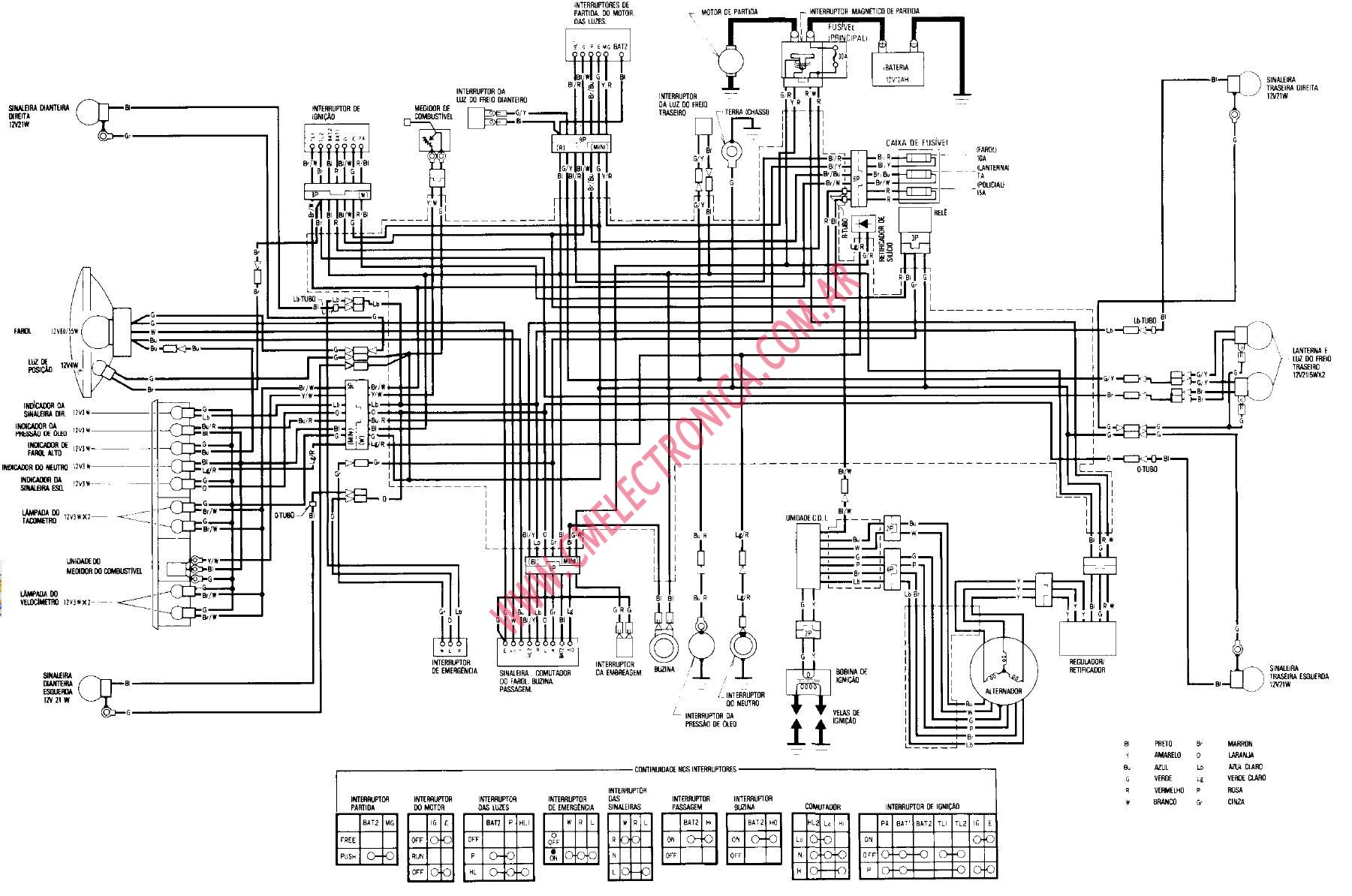 Wiring Diagram For Gsxr 750, Wiring, Free Engine Image For