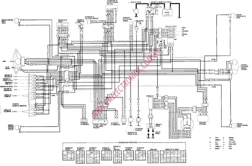 medium resolution of diagrama honda cb400n superdream