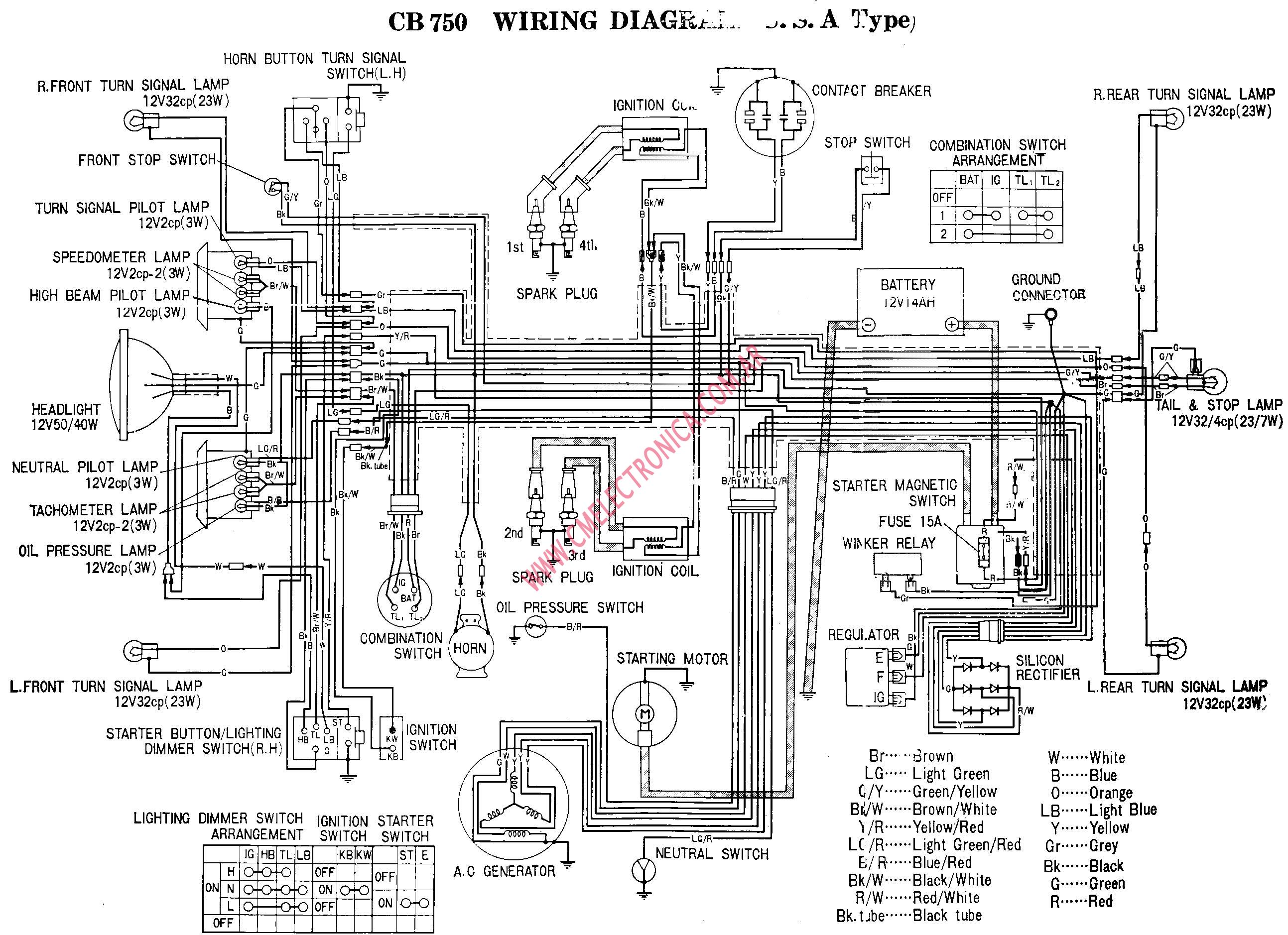 1982 Honda Shadow 750 Wiring Diagram, 1982, Free Engine