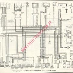 1982 Honda Gl1100 Wiring Diagram Trailer Light 5 Wire 750 Motorcycle Carburetor Car Interior Design