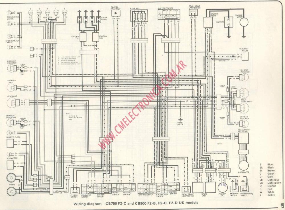 medium resolution of diagrama honda cb750f cb900f antenna wiring diagram painless wiring diagram