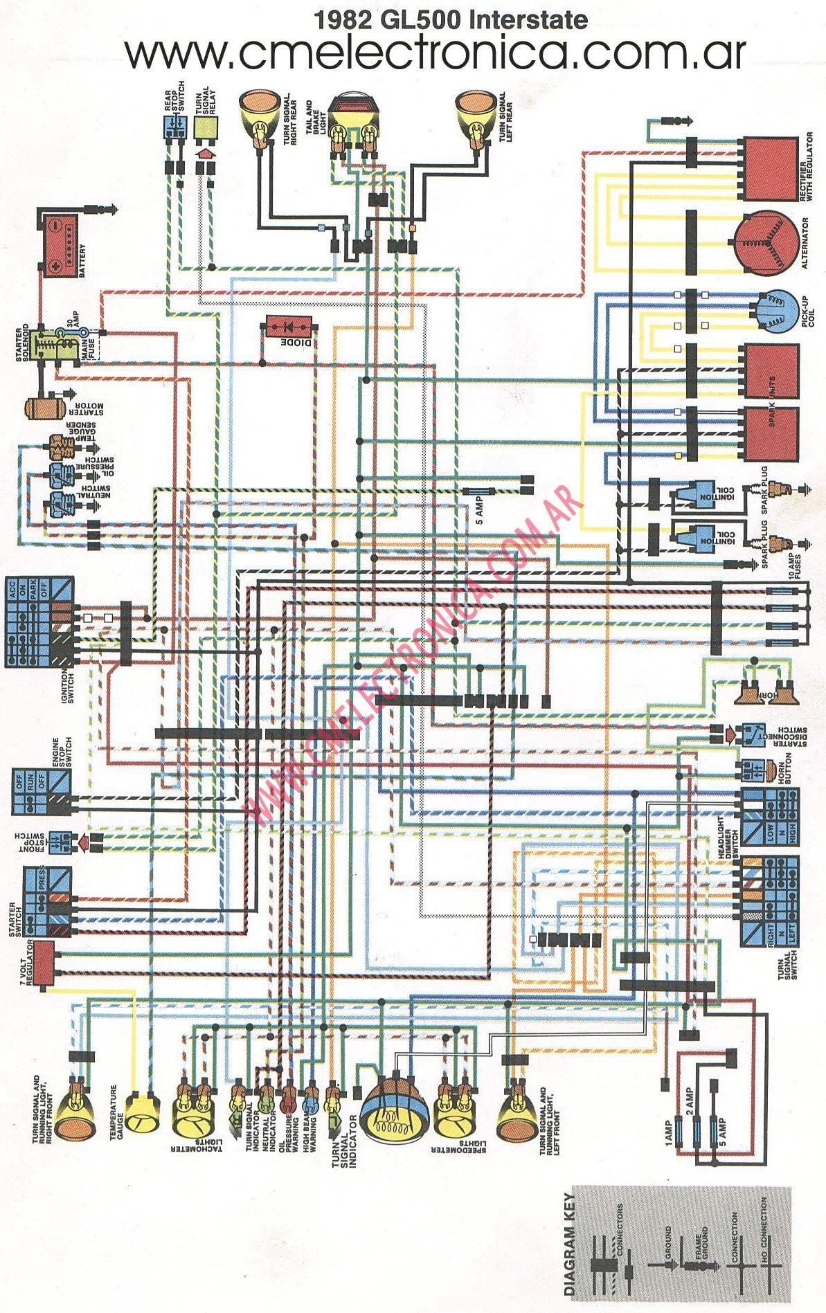 evinrude etec 250 wiring diagram 24v for trolling motors diagrama honda g 500 intersta 1982