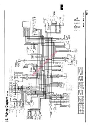 RX80 HONDA 1983 WIRING DIAGRAM  Auto Electrical Wiring