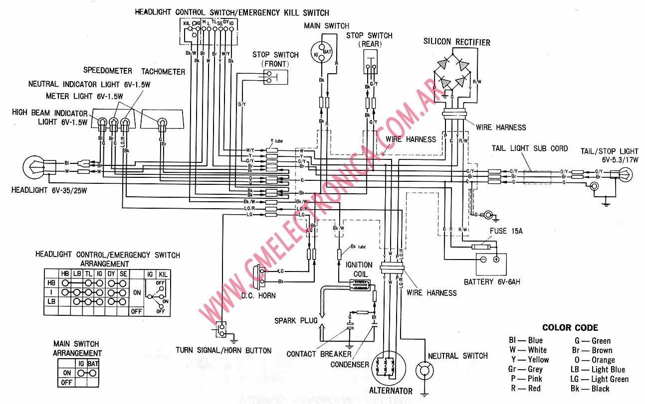 1974 Honda Xl 125 Wiring Diagram, 1974, Free Engine Image