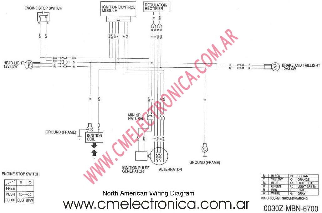 honda xr650r wiring diagram