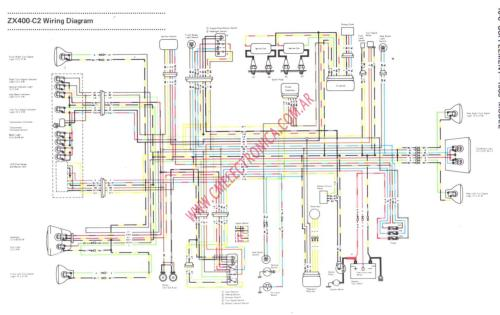 small resolution of kawasaki gpz 400 wiring diagram