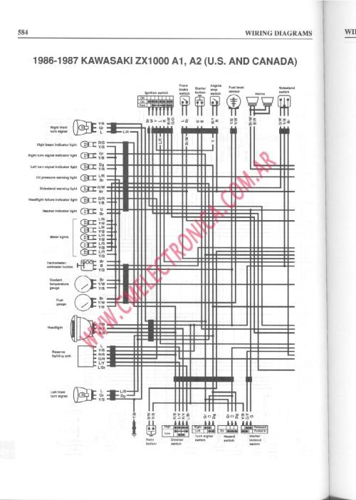 small resolution of 1989 fzr 1000 wiring diagram likewise 1989 yamaha warrior wiring