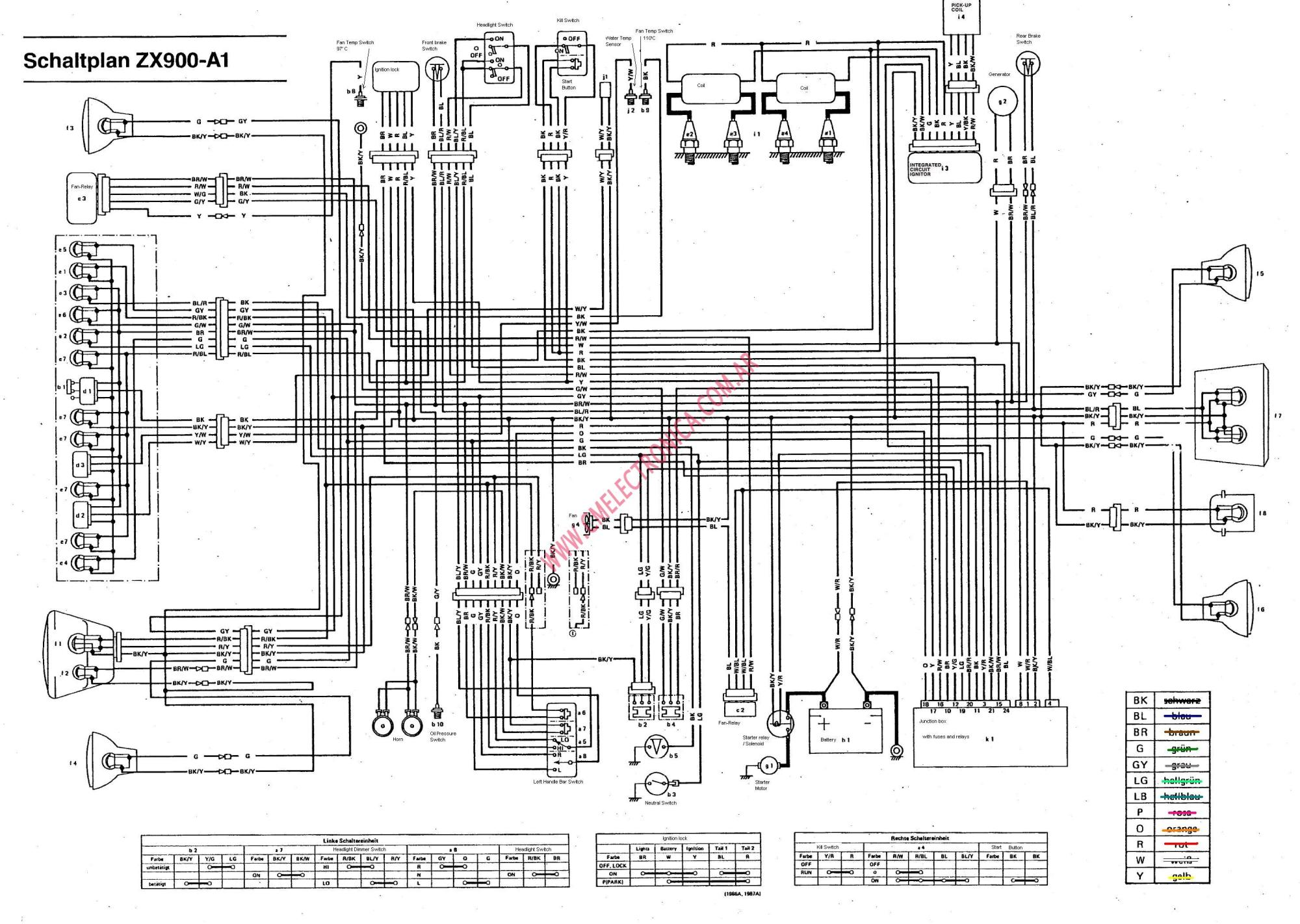 hight resolution of kawasaki gpz 1100 wiring diagram wiring diagram online 1984 kawasaki gpz 1100 gpz 1100 wiring diagram