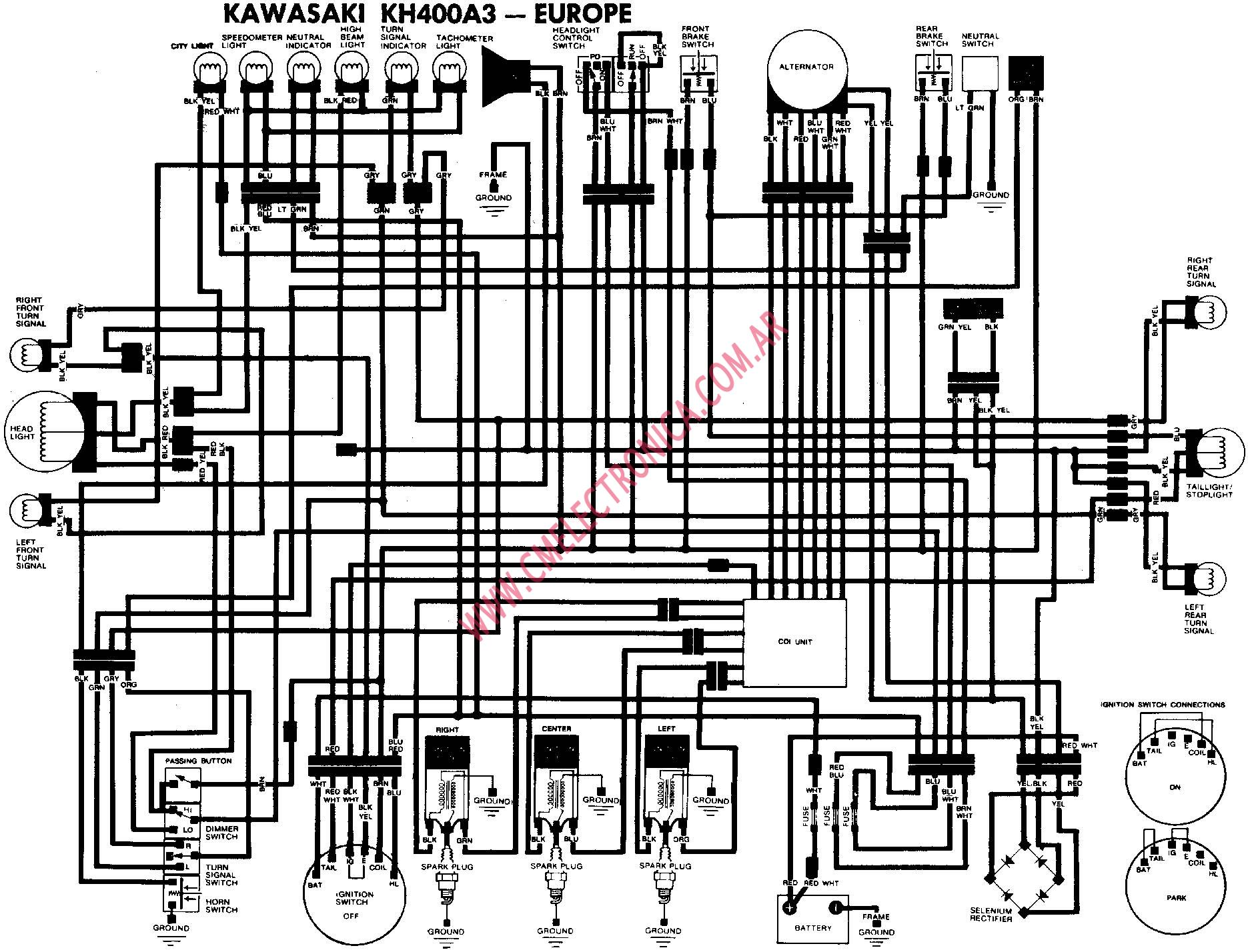 Diagram Kawasaki Gpz Rx Wiring Diagram Full Version