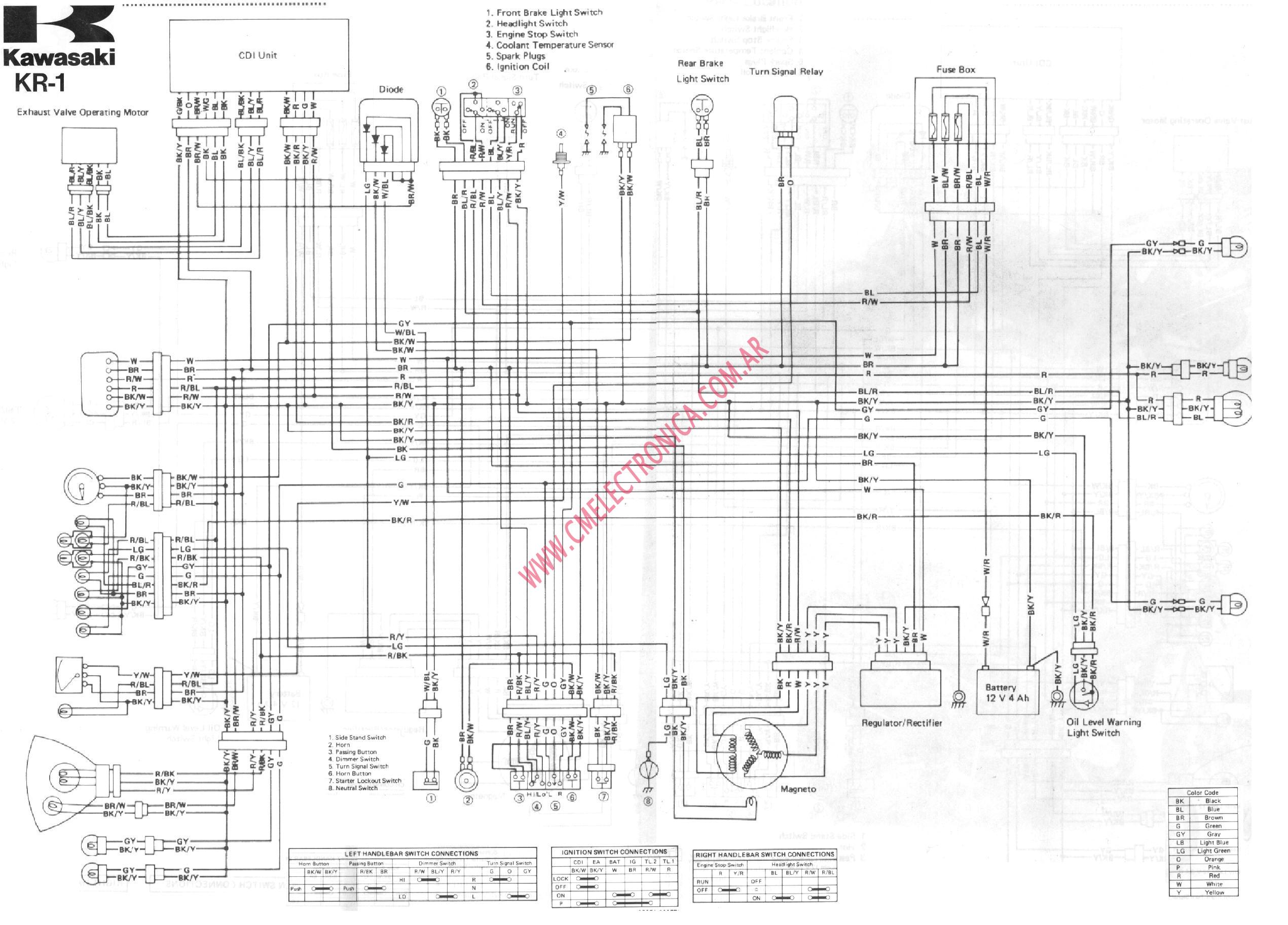 power wheels kawasaki wiring diagram freightliner chassis 4 wheeler prairie 360