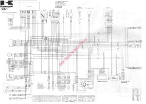Diagrama kawasaki kr250