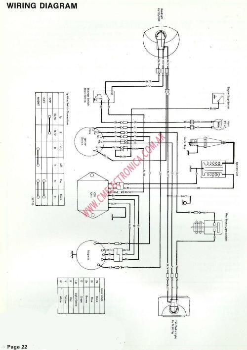 small resolution of kawasaki kt250 wiring diagram