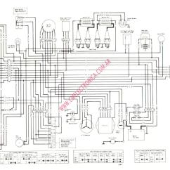 1978 Kz1000 Wiring Diagram 2003 Ford Focus Alternator Kawasaki Motorcycle Diagrams 83 Get Free