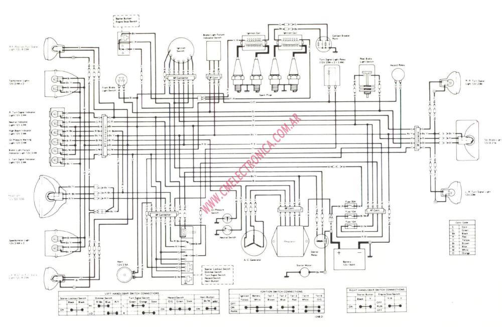 medium resolution of kz1000 wiring diagram