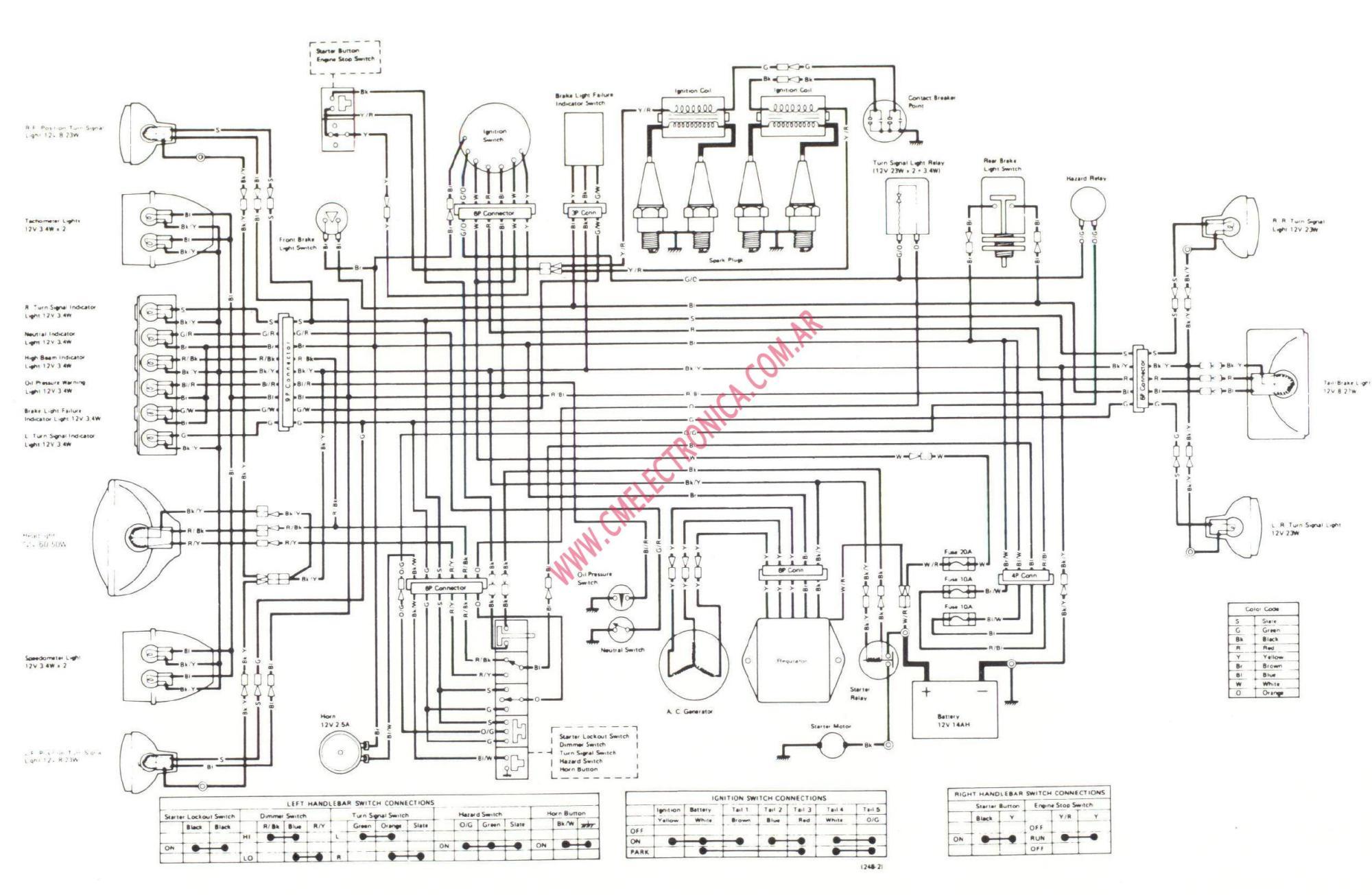 hight resolution of kz1000 wiring diagram