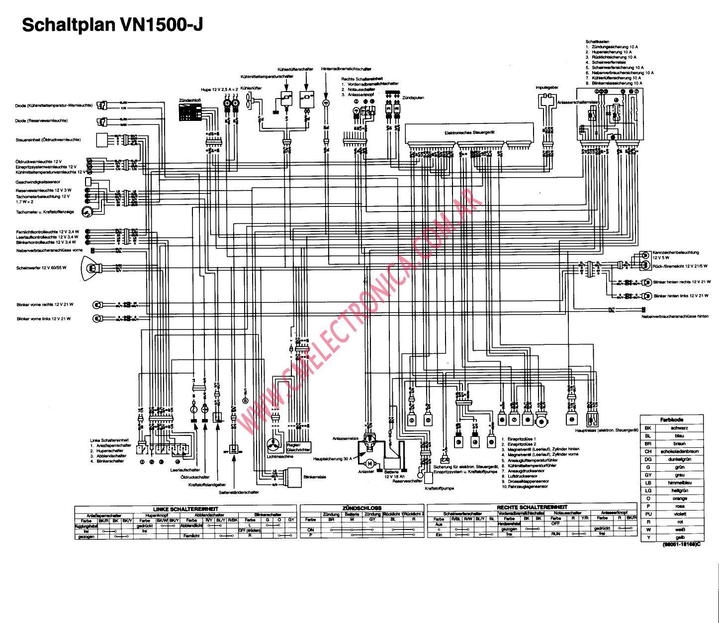 1998 vulcan 1500 wiring diagram
