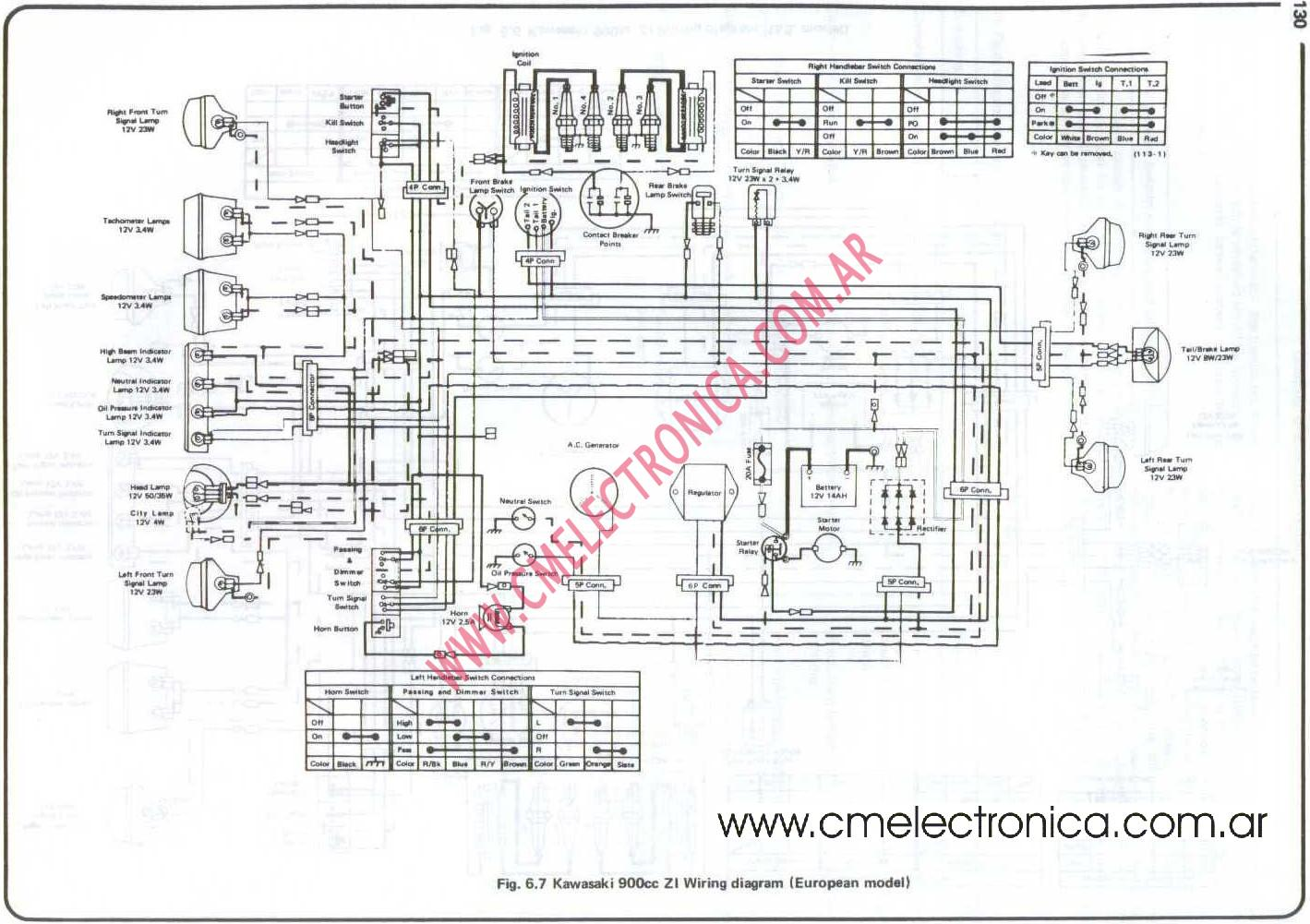 hight resolution of z1 wiring diagram wiring library 1973 z1 900 wiring diagram