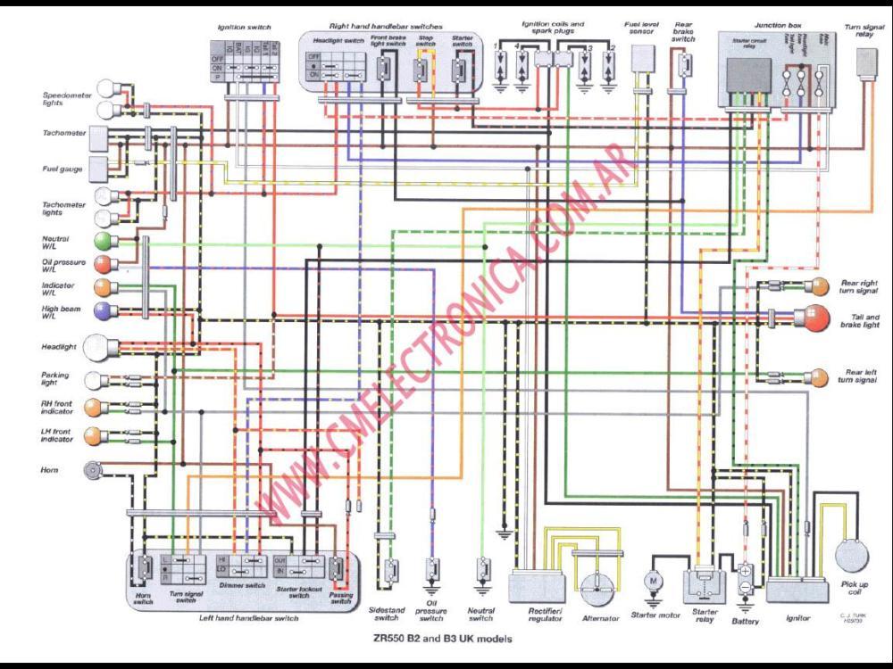 medium resolution of kz440 wiring diagram