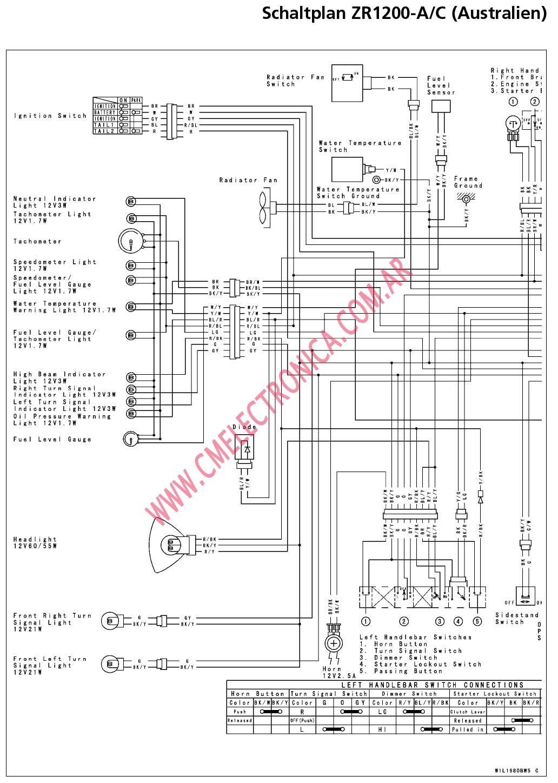 yamaha crypton wiring diagram
