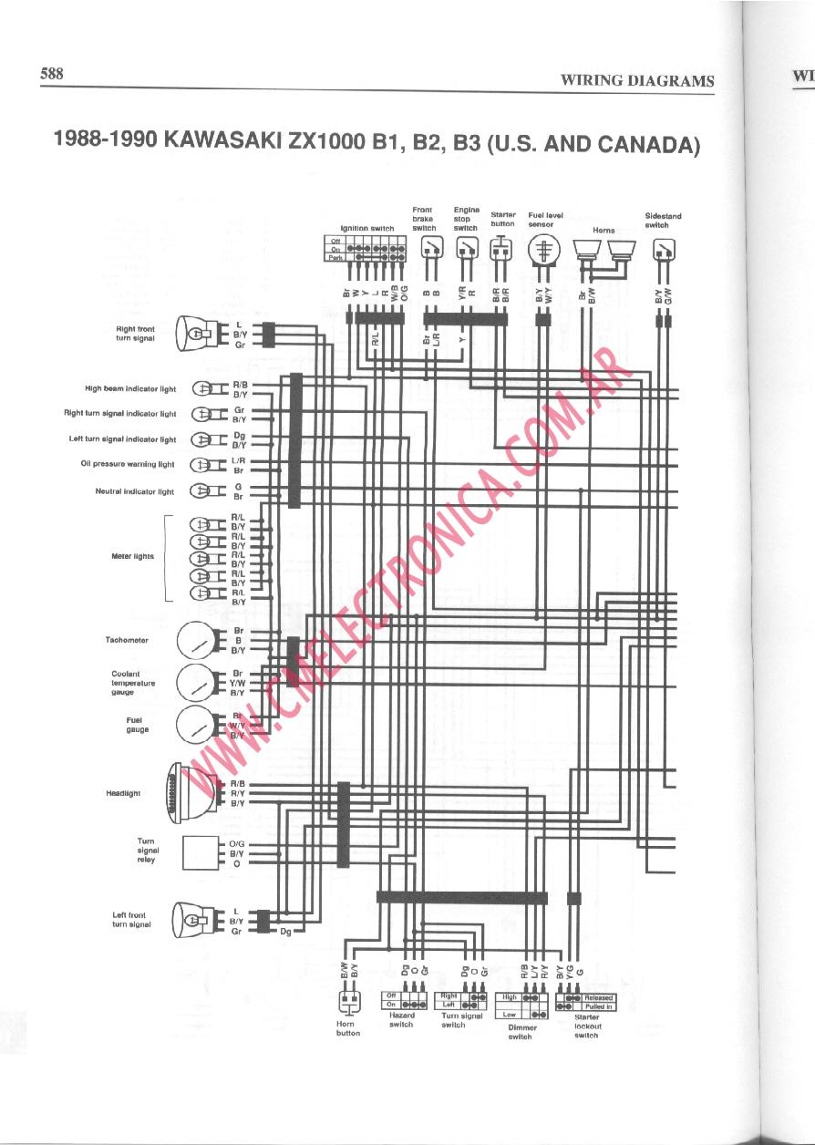 Kawasaki Vulcan Vn750 Electrical System And Wiring Diagram