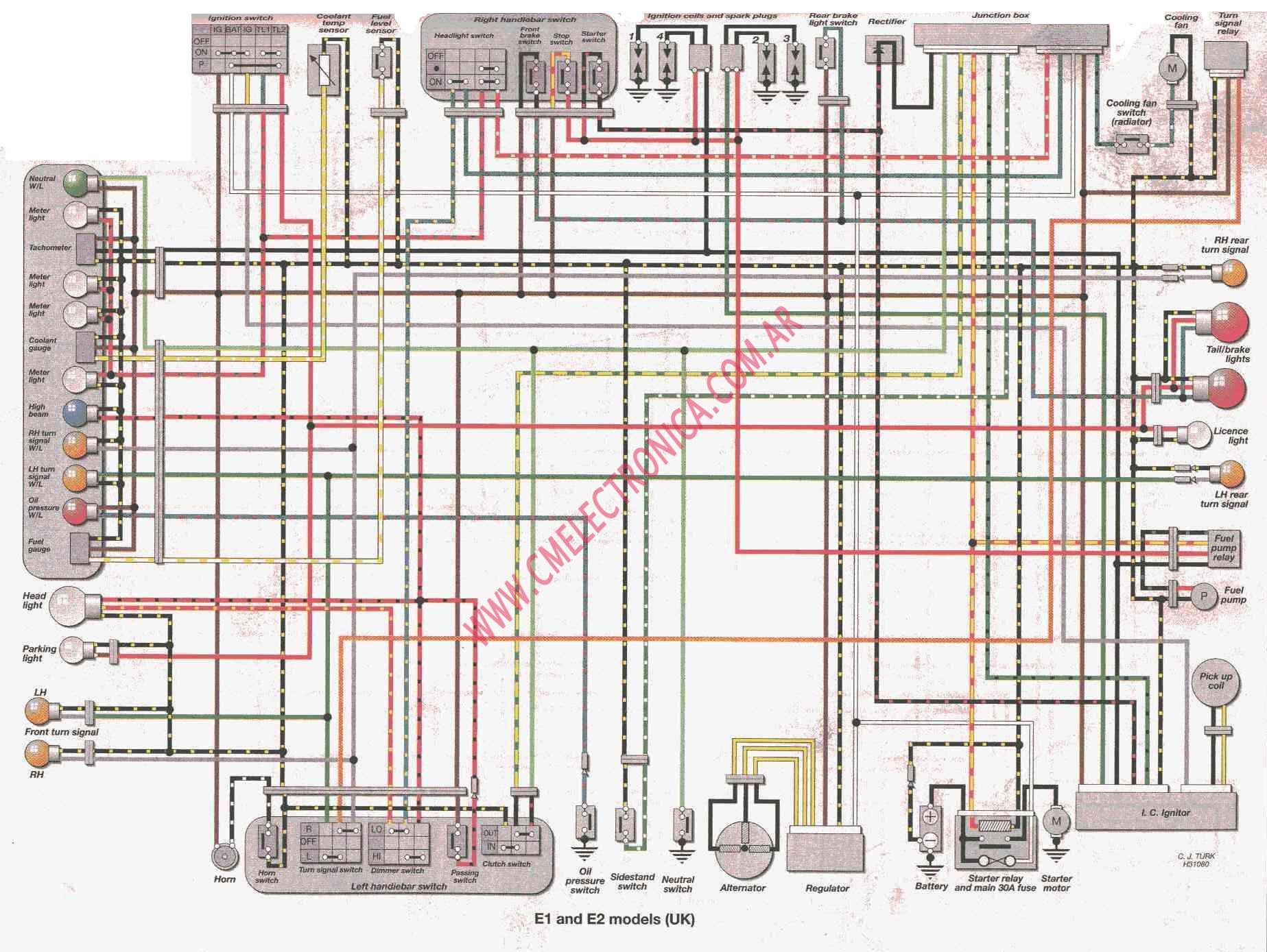 93 Yamaha Virago Wiring Diagram