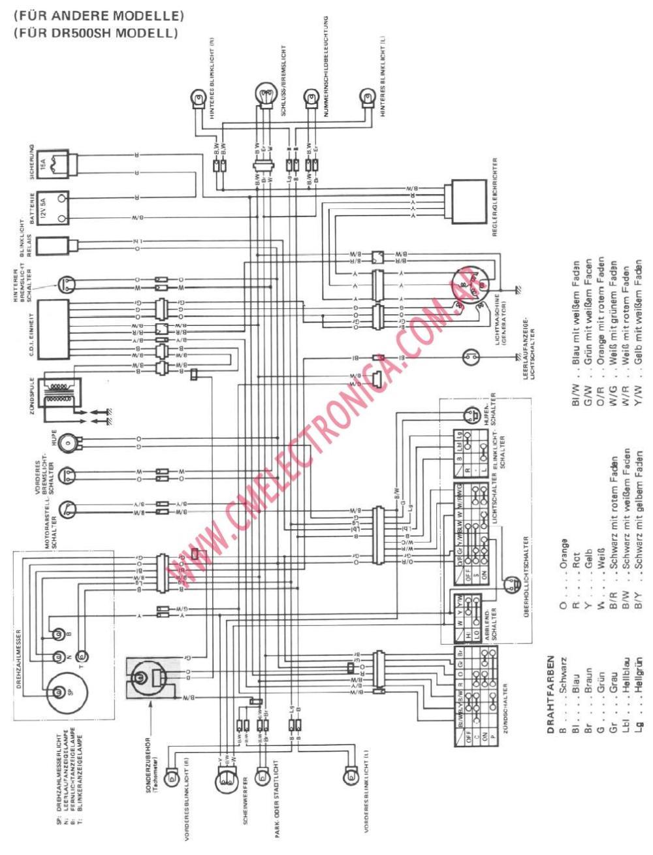 medium resolution of dr200 wiring diagram wiring diagram rowssuzuki dr 200 wiring diagram wiring diagram centre 2008 suzuki dr200
