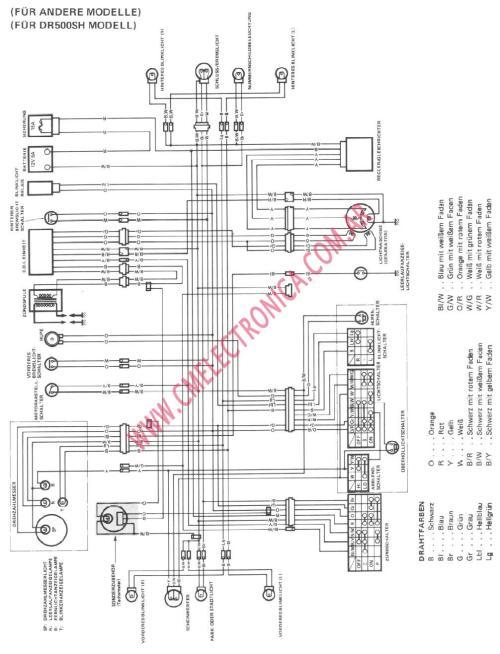 small resolution of dr200 wiring diagram wiring diagram rowssuzuki dr 200 wiring diagram wiring diagram centre 2008 suzuki dr200