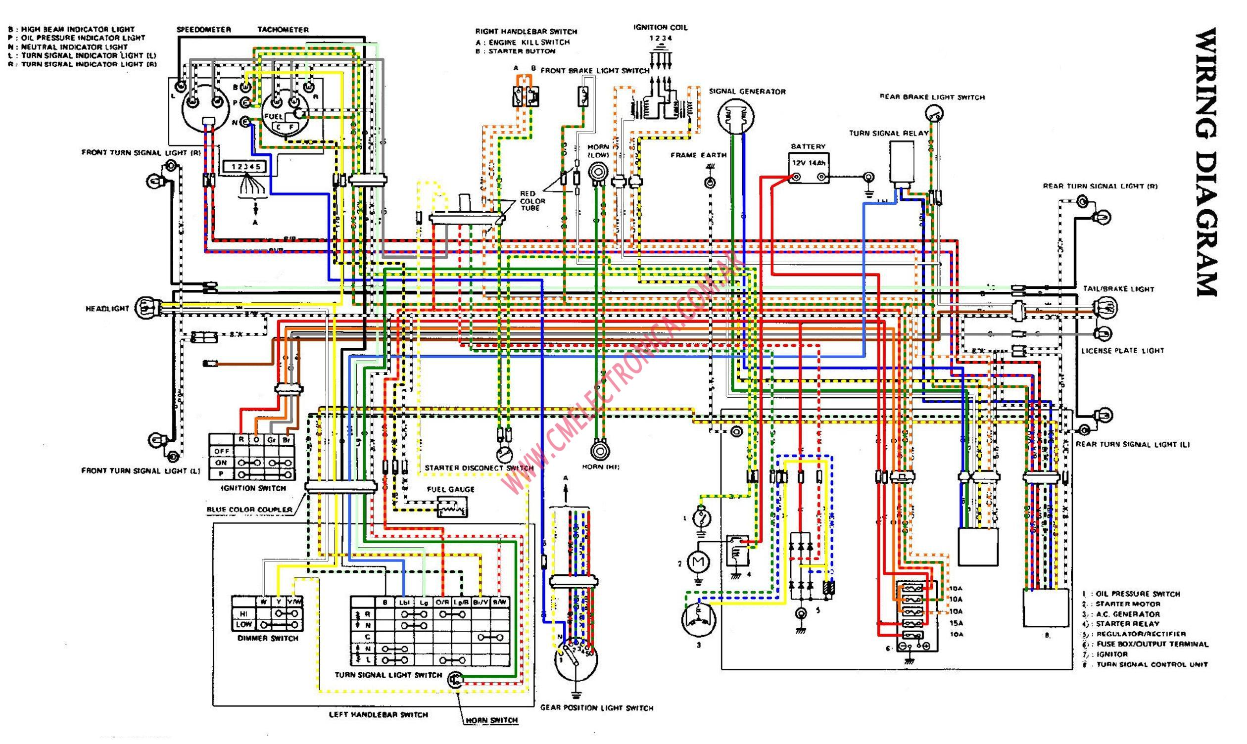 Gs750 Wiring Diagram | Wiring Diagram on