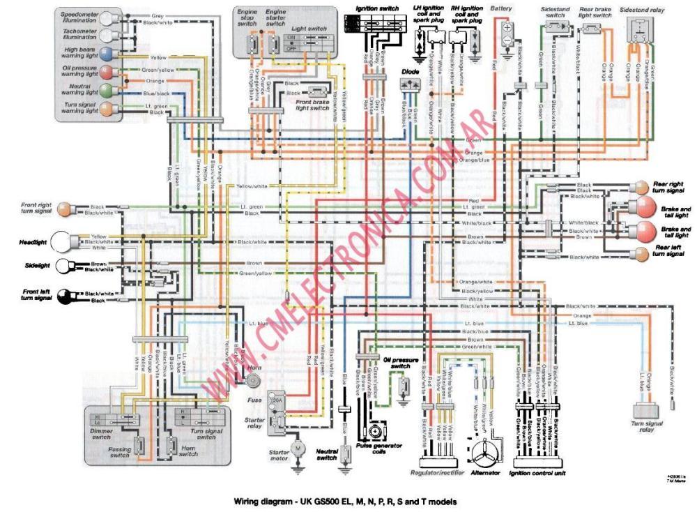 medium resolution of diagrama suzuki gs500lt suzuki gs 500 wiring diagram 2005 suzuki gs500 wiring diagram