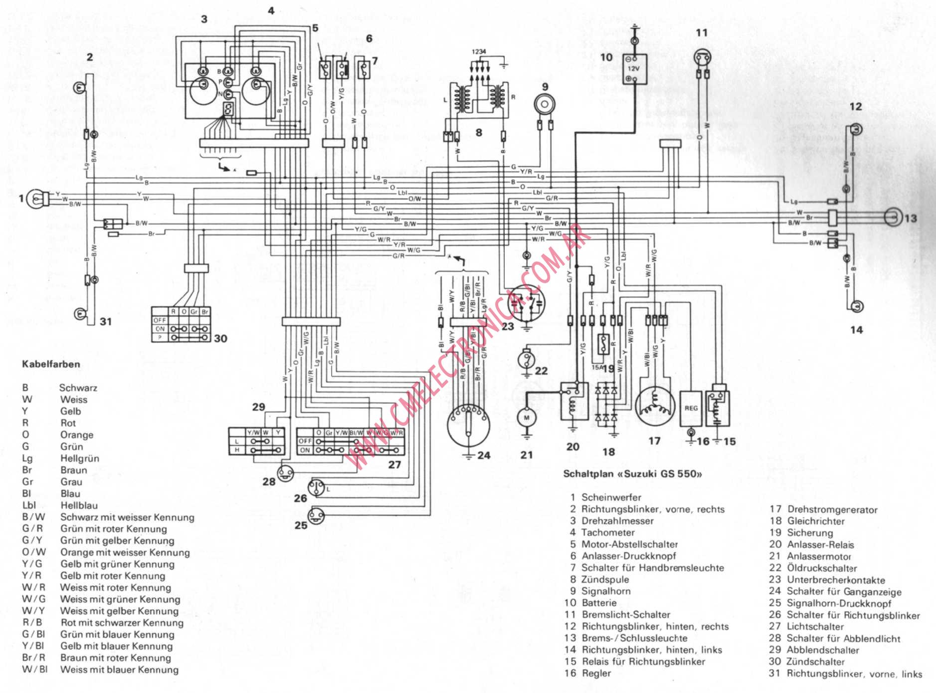 suzuki gs550 suzuki gs550 wiring diagram efcaviation com 1982 suzuki gs550l wiring diagrams at gsmx.co