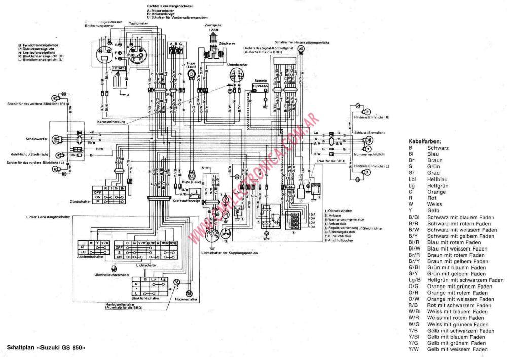 medium resolution of suzuki gs850 diagrama suzuki gs850 1981 suzuki gs850 wiring diagram at cita asia